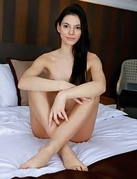 Aleksandrina nude in erotic BRIDAL LACE gallery - MetArt.com