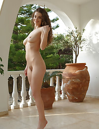 Veronika Glam nude in softcore GLAM HAIR gallery - MetArt.com