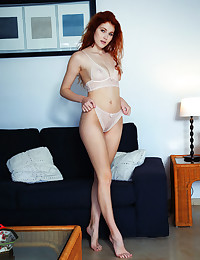 Adel C bare in glamour CRIMSON gallery - MetArt.com