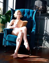 Hilary Wind nude in erotic BOOK CLUB gallery - MetArt.com