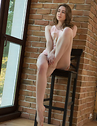 Ginger Frost nude in erotic BRICK IN THE WALL gallery - MetArt.com
