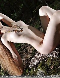Exquisite, pale complexion, remarkable beauty, erotic poses.