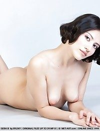 Bushy babe with foxy appeal and womanly physique.