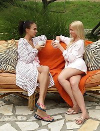 COFFEE DATE with Katy Rios, Kiara Lord - ALS Scan