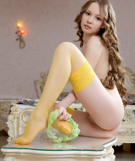 Angelic beauty, pain lustrious curls, smooth fair skin, and bright, alluring personality.