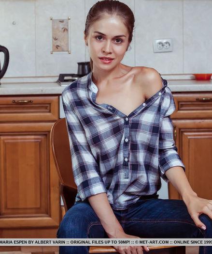 Maria Espen bare in glamour YETTAN gallery - MetArt.com