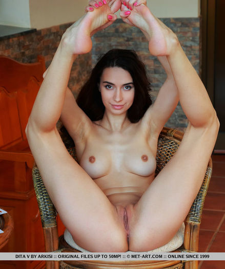 Dita V nude in glamour YONESSI gallery - MetArt.com