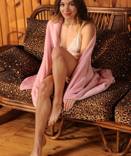 Kaleesy nude in erotic VACATION CABIN gallery - MetArt.com