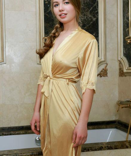 Camilla Stan nude in erotic GOLDEN SPA gallery - MetArt.com