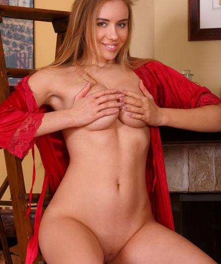 Ryana nude in erotic FIREPLACE Relieve gallery - MetArt.com