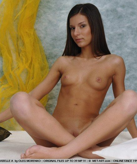 Beautiful brunette with slender develop intensify and gorgeous details.